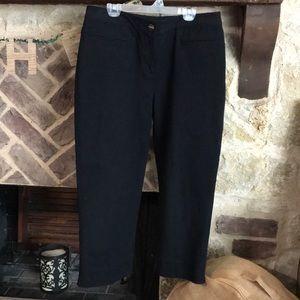Black St John pants size 8 EUC
